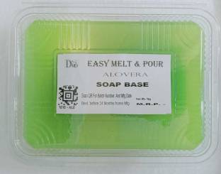 DSMO Aloe Vera Glycerine Base/ Aloevera Advantage Melt and Pour Soap Base - 1 KG