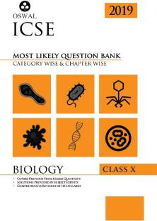 Most Likely Question Bank for Biology - ICSE Class 10 for 2019 Examination