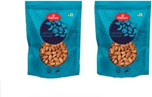 Haldiram's Almonds Pack of 2 Pouch X 400 g Almonds