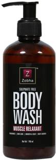 Zobha Muscle Relaxant Shower Gel Micro Molecules & Body Wash For Women and Men - 300ml