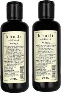 Khadi Herbal Bhringraj Oil (Twinpack) Hair Oil