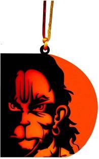 OPZET INDIA 3D lord hanuman ji Hanging Decorative Item, Car Decoration Rear View Mirror Hanging Accessories, Car Hanging Pendant, Car Decorative Ornaments Car Hanging Ornament Car Hanging Ornament