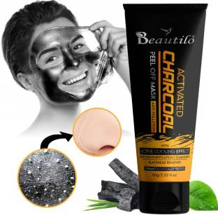 Beautilo Activated Charcoal Peel Off Mask