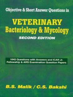 Veterinary Bacteriology & Mycology (Objective & Short Answer Questions), 2e