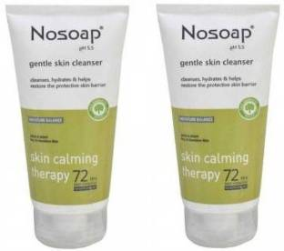 Nosoap Gentle skin cleanser 125ml pack of 2