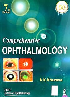 Comprehensive Ophthalmology - comprehensive ophthalmology 7th edition by AK KHURANA