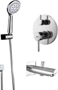 ZAP ZXR 70100 Complete Diverter Set with Plate, Hand Shower, Spout and Body for Bathroom Faucet Set