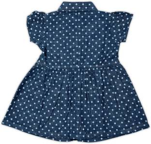 FS Mini Klub Baby Girl's Midi/Knee Length Casual Dress