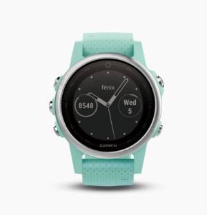 GARMIN Fenix 5S Frost Blue Tone Sapphire Smartwatch