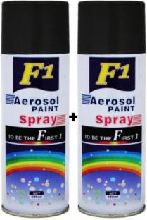 F1 PREMIUM BLACK Spray Paint 450 ml
