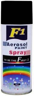 F1 Matt Black Spray Paint 450 ml