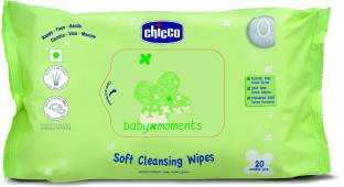 Chicco Baby Wipes 20 Pcs In