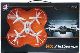 Astha Enterprises HX 750 DRONE 2.4 GHZ TECHNOLOGY, 6 CHANNEL REMOTE CONTROL QUADCOPTER WITHOUT CAMERA ...