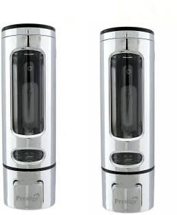Prestige Liquid Soap Dispenser with Lock Key for Sink Bathroom 400 ml Shampoo Dispenser