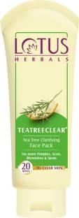 LOTUS HERBALS Herbals TEATREECLEAR Tea Tree Clarifying Face Pack