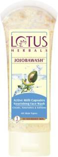 LOTUS HERBALS Jojoba Active Milli Capsules Nourishing Face Wash