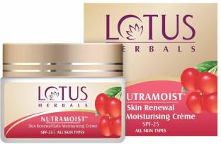 LOTUS Herbals SPF 25 Nutramoist Skin Renewal Daily Moisturising Creme