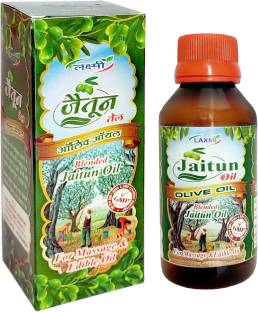 Laxmi JAITUN TAIL Olive oil Moisturizes Skin, Fights Signs Of Aging, Improves Skin Health, Keeps Hair Healthy, Helps BODY SKIN TREATMENT