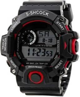 Trex Water&Shock Resistance Alarm Digital Watch  - For Boys