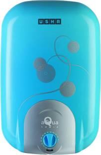 USHA 15 L Storage Water Geyser (Aquagenie, Moonflower Sku Blue)