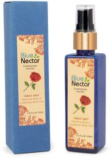 Blue Nectar Mist with Himalyan Rose and Cardamom for long lasting freshness Body Mist  -  For Men & Women
