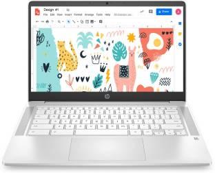 HP 14a Celeron Dual Core - (4 GB/64 GB EMMC Storage/Chrome OS) 14a- na0002TU Chromebook