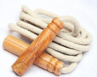 VJOY High Quality Product Wooden Handle Jumping Skipping Rope for Men Women Children Freestyle Skipping Rope