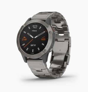 GARMIN Fenix 6 Sapphire Titanium Smartwatch