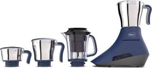Pigeon Feather Touch 14617 1000 W Juicer Mixer Grinder (4 Jars, Blue, Silver)