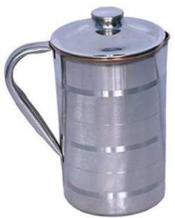 rsc healthcare 1.7 L Water 100% PURE COPPER STEEL JUG MADE IN INDIA LATEST DESIGN Jug