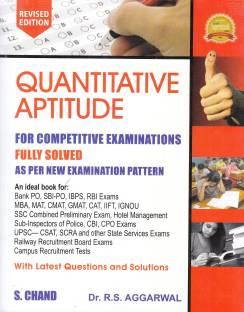 Quantitative Aptitude for Competitive Examinations with 0 Disc