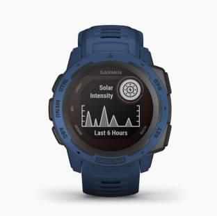 GARMIN Instinct Solar Tidal Blue Smartwatch