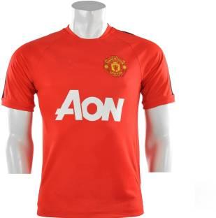 Navex Footbal Jersey Club Manchester Red 1 Short Sleeve Ket L Football Kit 91487bc40