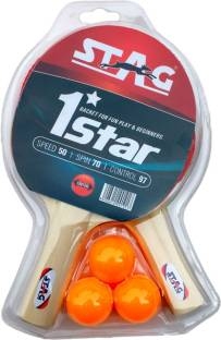 stag 1 star play set 2 bats table tennis kit - Cartable Dragon Ball Z