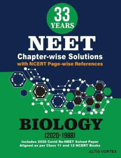 33 Years NEET Chapterwise solutions- Biology