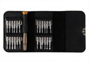 Jaskul 25 in 1 Precision Screwdriver Set Repair Tool Kit Set Torque Screwdriver Standard Standard Scre...