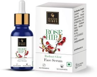 GOOD VIBES Radiant Glow Face Serum - Rose Hip
