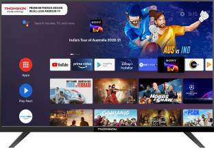 Thomson 9A Series 80 cm (32 inch) HD Ready LED Smart Android TV with Bezel Less Display