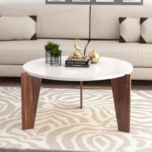 Cherry Wood Engineered Wood Coffee Table