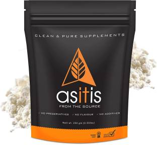 AS-IT-IS Nutrition Whey Protein Concentrate 80% Unflavored - 250gm Whey Protein