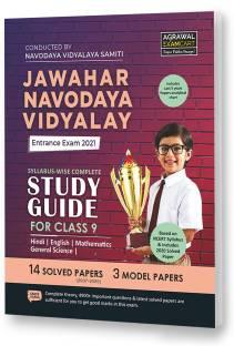 Jawahar Navodaya Vidyalaya Entrance Exam 2021 Complete Guidebook Class 9