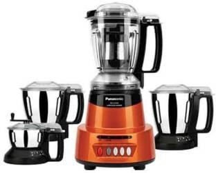 Panasonic 425SO AV 600 Juicer Mixer Grinder (4 Jars, Sunstone, Orange)