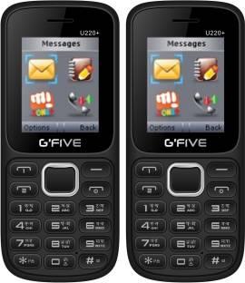 GFive U220 Plus Combo of Two Mobiles
