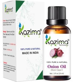 KAZIMA Onion Essential Oil (15ML) Pure Natural For Skin care & Hair treatment Hair Oil