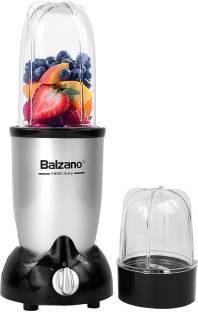 Balzano EK-3350 Juicer 500 W Juicer Mixer Grinder (2 Jars, Silver)