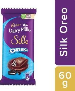 Cadbury Dairy Milk Silk Oreo Chocolate Bars