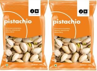 Jn Premium Pistachios Pack of 2(2 x 250 g) Pistachios