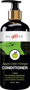 ELIBLISS Apple Cider Vinegar Hair Conditioner for Smooth & Shiny Hair,Free from Paraben & Mineral Oil, for Men and Women Hair Conditioner