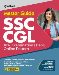 Master Guide Ssc Cgl Combined Graduate Level Tier-I 2021