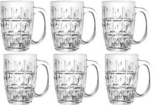 UNIION JUICE , BEER MUG SET OF 6 PCS MADE IN THAILAND Glass Beer Mug